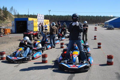 Stag Riga Gokarting Activity