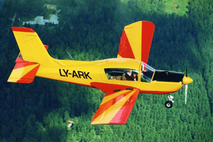 Vilnius Light Aircraft Flight
